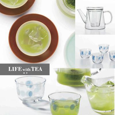 【話題の水出し緑茶に!】冷茶グラス&ティーポット