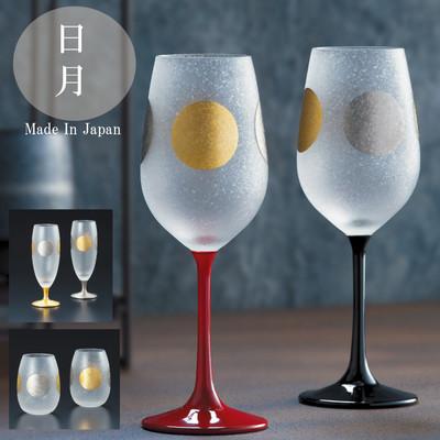 【日本製 漆・金・プラチナの特別なグラス 】日月(JITUGETSU)タンブラーギフトセット