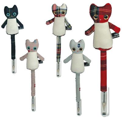【日本製】人気のネコちゃん♪ハンドメイドCATペンホルダー