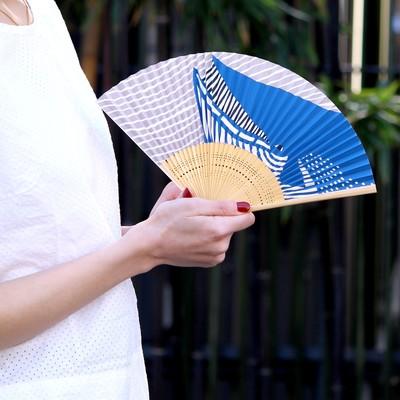 【限定品日本製】京都大西常商店人気のkatakata 京扇子