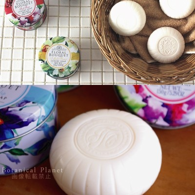 【THE SOMERSET TOILETRY】フラワー缶入りソープ