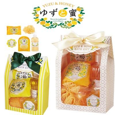 【四国産ゆず使用】ゆずと蜜 ゆずの香りをたっぷり楽しめるバスボディギフト