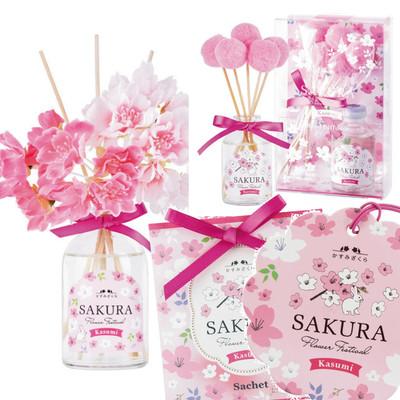 【2018桜】Flower Festivalディフューザー&サシェ