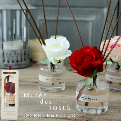 【Muse de Rose】お花を飾るように香りを楽しめる ギフトにも!フラワーディフューザー