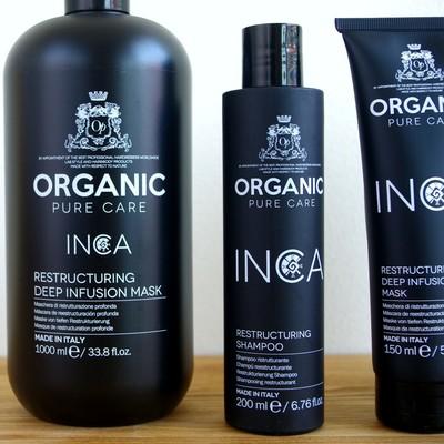 【ORGANIC PURE CAREオーガニックピュアケア】ノンケミカル・オーガニック原料ヘアケア インカラインシャンプー&ヘアマスク