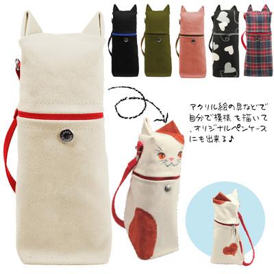 【キュートなネコ耳付き♪】猫耳ペンスタンド