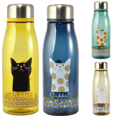 【Cat Cuppa?】ネコ フローラルボトル 直のみボトル