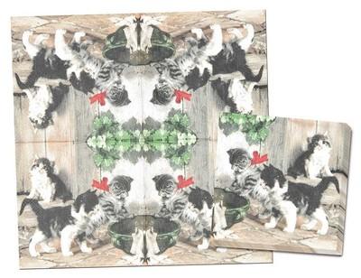 【キュートな猫がいっぱい♪】ネコ ペーパーナプキン