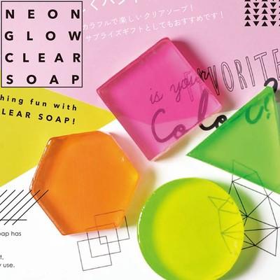 【ネオンカラーで楽しくハンドウォッシュ】NEON GLOW CLEAR SOAP