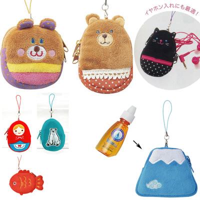 【携帯やバッグに付けれる♪】目薬ホルダー マトリョーシカ&ネコ&かわいい動物