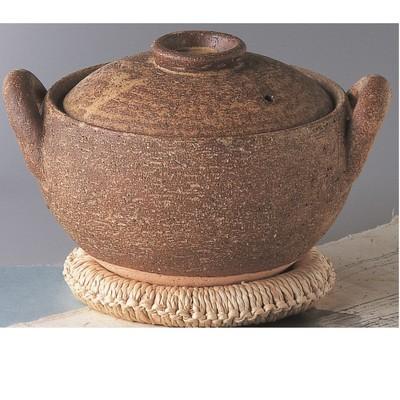 日本製 長谷園 みそ汁鍋