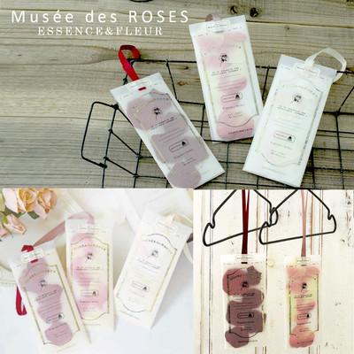 【Muse de Rose】花びらが入ったような香りサシェ ギフトにも!フレグランスハンガーサシェ