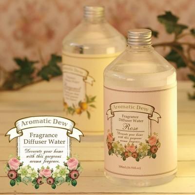 【大人気!柚子も新登場】アロマティックデュー 加湿器でアロマ♪精油配合香料使用のアロマウォーター