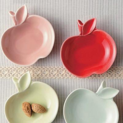 【日本製白磁】apple りんご小皿