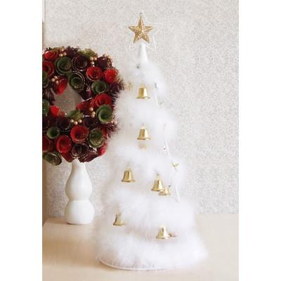【素敵なクリスマス☆】フェザーツリーベル