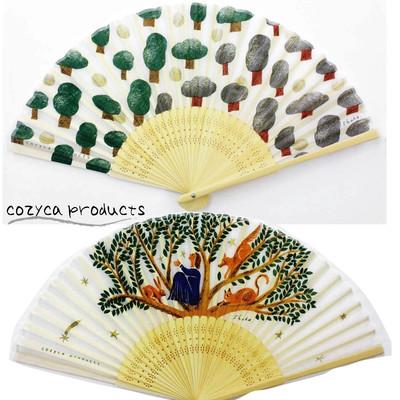 【cozyca products】西淑 おしゃれな扇子(※限定品)