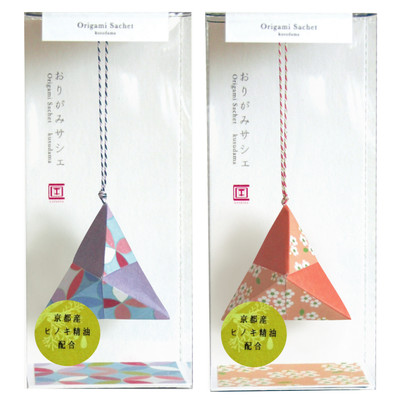 【cotoiro】京都から香りの贈り物・・こといろ おりがみサシェkusudama
