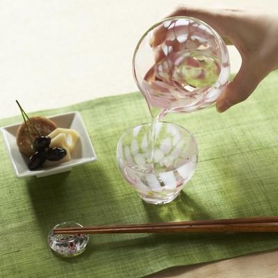 【津軽びいどろ】手に取るとこころ華やぐ日本の美しいグラス ふくらぐらす(片口、盃、グラス)
