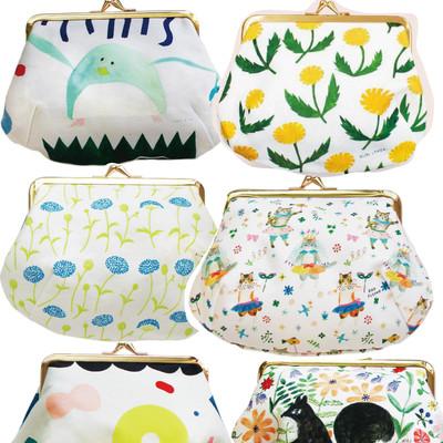 【cozyca products】猫などかわいいデザイナーズ帆布コスメポーチ Subikiawa・西淑・Aiko Fukawa