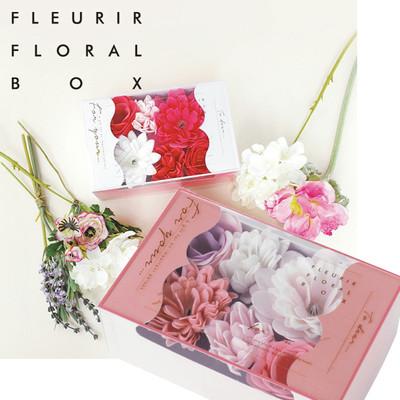 【FLEURIR FLORAL BOX】フルリールフローラルボックス ギフトにぴったりのバスペタル入浴剤