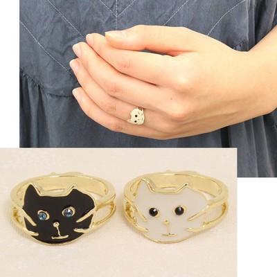 【Luccica】ヒゲねこリング 指輪