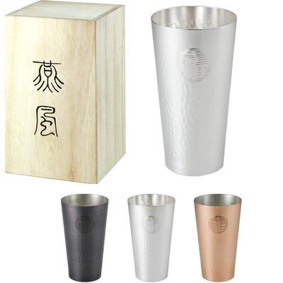 日本製【燕市製 純銅でビールやアイスコーヒーが美味しく】燕風 箱入りタンブラー 父の日にも