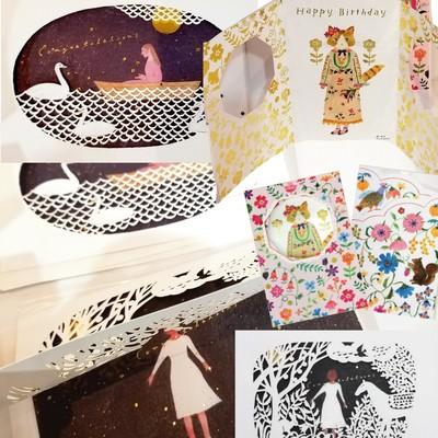 【cozyca products】西寂 Aiko Fukawa グリーディングカード