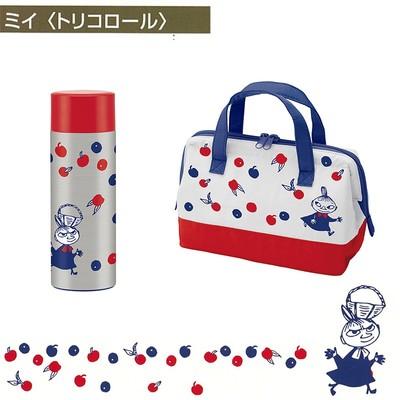 【ムーミン】ミイトリコロール ステンレスボトル&バッグ