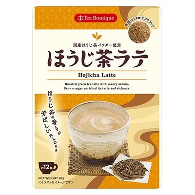 【Tea Boutiqueティーブティック】インスタント ほうじ茶ラテ 日本緑茶センター
