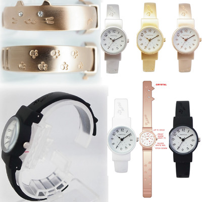 【ネコのかわいい時計】猫腕時計 ミャオASS121
