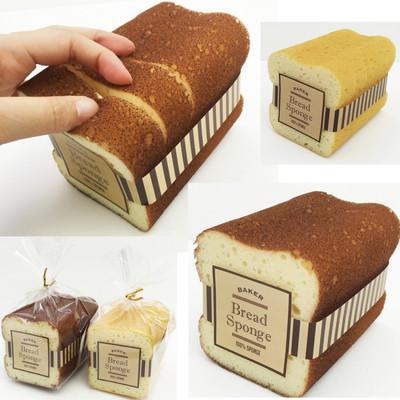 【本物みたい♪ふわふわパンで楽しく!】キッチンスポンジBREAD