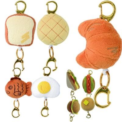 【人気のパンアイテム☆】リールが伸びる便利!鍵やIDケースをつけて♪リールマスコット