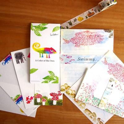 日本製美濃和紙【レオ・レオニ】LeoLionni×cozyca productsレターセット&便箋