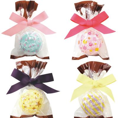【SweetsMaison スウィーツメゾン キュートな入浴剤】マカロンホリックバスフィズ